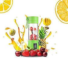 Lemonbest <b>1pc USB Rechargeable</b> Juicer Bottle Household Travel ...