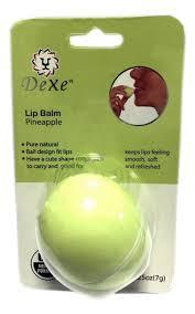 <b>Бальзам для губ Pineapple</b> 7г (в блистере) DeXe — купить ...
