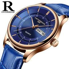 Order <b>ONTHEEDGE Mens Watches</b> Luxury <b>Men</b> Quartz Date Week ...