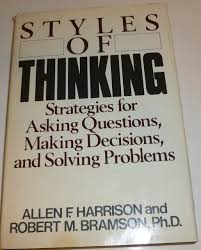 buy problem solving best strategies to decision making critical styles of thinking strategies for asking questions making decisions and solving problems by harrison allen f bramson robert m 1982 hardcover