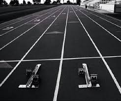 Image result for track and field black and white images