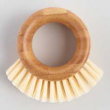 Full Circle <b>The Ring</b> Bamboo <b>Veggie Brush</b> | World Market