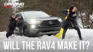 2020 Toyota RAV4 TRD <b>Off Road</b> Review and <b>Mountain</b> Adventure