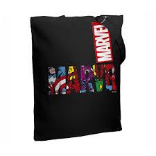 Холщовая <b>сумка Marvel Avengers</b>, черная купить (арт. <b>55523.30</b> ...