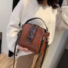 <b>Crocodile Bucket Bag For</b> Women 2019 Fashion Small Crossbody ...