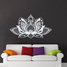 Popular Yoga Mural Sticker <b>Mandala Flower</b> Pattern-Buy Cheap ...