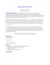 cover letter dance resume examples dance resume examples for cover letter dance resume sample job and template dance for collegedance resume examples large size