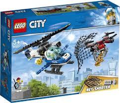 <b>Конструктор LEGO</b> City 60207 <b>Воздушная полиция</b>: погоня дронов