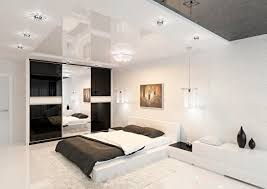 modern bedroom concepts:  modern black and white bedroom