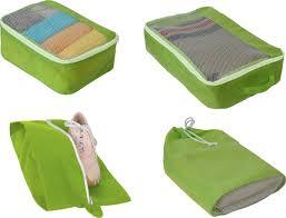 <b>Комплект чехлов для</b> путешествий Hausmann 3T-205, зеленый ...