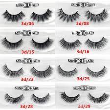 12 styles <b>2pcs</b> pair 100% <b>Real</b> Siberian 3D Mink <b>Full</b> Strip False ...