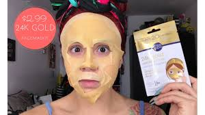 <b>24K GOLD FACE MASK</b> | Miss Spa | Stephanie Lopez - YouTube
