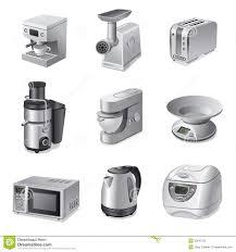 Of Kitchen Appliances Kitchen Appliances Icon Set Stock Photography Image 30831522