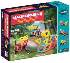 <b>Магнитный конструктор MAGFORMERS Magic</b> Pop (25 деталей ...