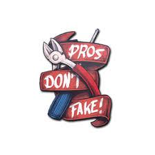 <b>Pros Don't Fake</b> Sticker - CS:GO Stash