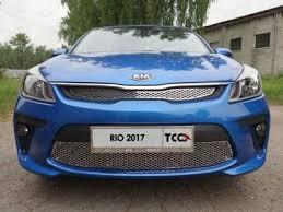 Купить <b>Решетка радиатора верхняя лист</b> ТСС для Kia Rio 2018 ...