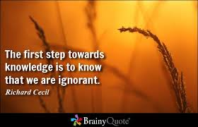 Image result for ignorance quotations