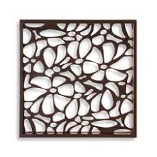 mirror wall decor circle panel: howard elliott silhouette decorative wall art mirror x in add some floral pizazz to your home daccor with the silhouette decorative wall art mirror