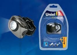 <b>Фонарь</b> налобный <b>Uniel S</b>-<b>HL011</b>-<b>C</b> Gun Metal 03212 Standard ...