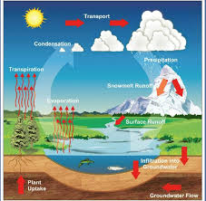 water cycle diagram of nasa  page     pics about space