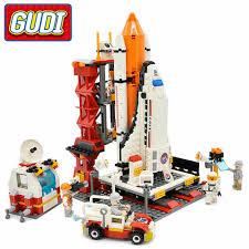 GUDI <b>City Spaceport Space</b> Shuttle Blocks <b>679pcs</b> Bricks Building ...