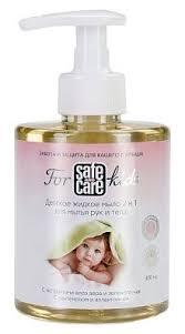Купить <b>Safe &</b> Care <b>Жидкое мыло</b> 2 в 1 для мытья рук и тела For ...