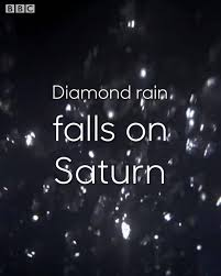 BBC Earth - The Planets: <b>Diamond rain</b> falls on Saturn | Facebook