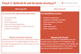 consultancy cv checklist voor studenten en professionals the consultancy cv checklist