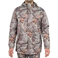 Теплая <b>камуфляжная куртка</b> для охоты 100 Camo br <b>SOLOGNAC</b> ...