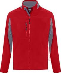 Заказать <b>Куртка мужская NORDIC красная</b> с логотипом | на заказ ...