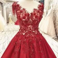 Red Velvet <b>Gown</b>, Wedding <b>Gown</b>, Modern <b>Evening</b> Wear, Velvet ...