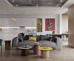 living room designs contemporary furniture and layout meet a retro inspired color palette all united by a interior design living room ideas contemporary photo