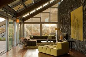 experimental bioclimatic house tenerife green living room stone wall green walls living room bedroomagreeable green brown living rooms