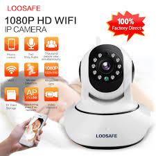<b>LOOSAFE</b> IP Camera <b>WIFI HD 1080P</b> Camera Surveillance Camera ...