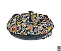 Санки надувные <b>Тюбинг RT Фаст-Фуд</b>, диаметр 118 см — купить ...