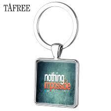 <b>TAFREE</b> Christian <b>Bible</b> Keychain Hope Faith <b>Quote</b> Nothing Is ...