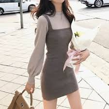Shop Knitted <b>Dresses</b> Online   YesStyle