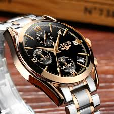 Relogio Masculino LIGE Men <b>Top Luxury Brand Military</b> Sport Watch ...