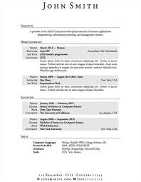 first resume builder  seangarrette cohigh school student resume examples