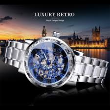 <b>T WINNER</b> Man Mechanical Watch Fashion Hollow Luxury <b>Design</b> ...
