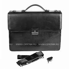 <b>Портфель</b> Sergio Belotti 9560 <b>milano black</b> , Черный цена 18 800 ...