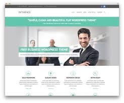 50 best responsive wordpress themes 2017 colorlib interface business theme