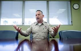 Riverside County Sheriff Chad Bianco: