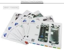 Магнитный винтовой <b>коврик</b> для iPhone 6 7 7 plus <b>Work</b> Guide ...
