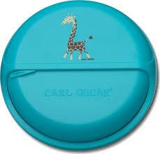 <b>Ланч-бокс для перекусов</b> SnackDISC Spider Giraffe бирюзовый