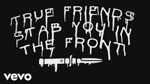 bring me the horizon true friends official lyric video bring me the horizon true friends official lyric video