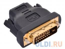 Переходник <b>HDMI 19F</b> - DVI-D 25M <b>VCOM</b> VAD7818 — купить по ...