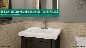 ideas bathroom sinks designer kohler: cool kohler faucets elliston centerset bathroom sink faucet plus single handle for bathroom decoration ideas