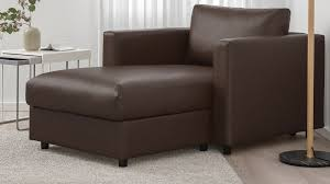 <b>Faux Leather Chaise Lounge</b> - IKEA