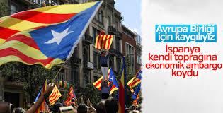 İspanya'dan Katalonya'ya ekonomik darbe